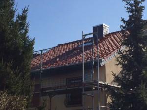 Dach in Nieder-Erlenbach nach der Sanierung